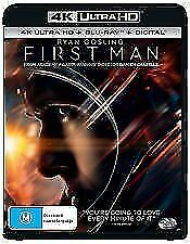 First Man 4K UHD (Blu-ray, 2019, 3-Disc Set) Brand new & sealed