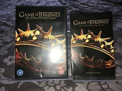 Game Of Thrones - Series 2 - Complete (DVD, 2013, 5-Disc Set, Box Set)