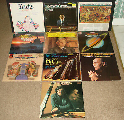 Lot of 30 LPs NM Vintage Classical Records, Most Never Played, Super Nice!