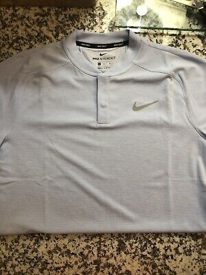 a40896dd NEW NIKE AEROREACT Men's Slim Fit Golf Blade Polo Shirt 854229-010 ...