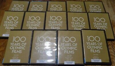 Criterion Collection: 100 Years of Olympic Films DVD - Ex-library & Not complete