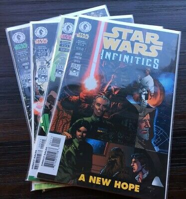 Star Wars: Infinities: A New Hope. 4 issues complete series Dark Horse Comics