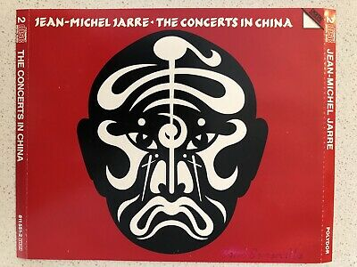 JEAN-MICHEL JARRE The Concerts In China Cd 1983 ?