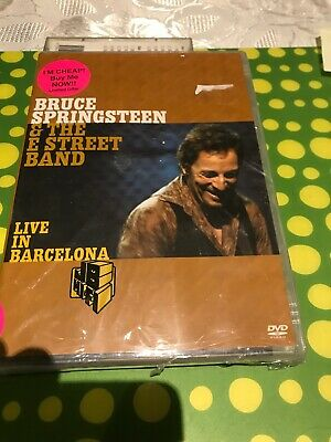 Bruce Springsteen & The E Street Band Live In Barcelona DVD New Sealed