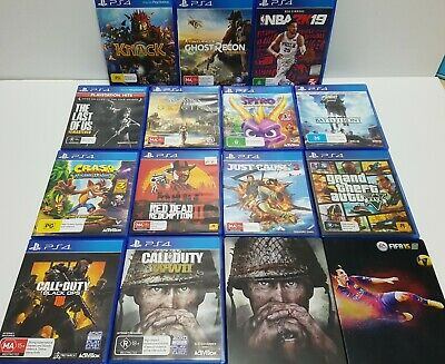 Good condition PS4 games : Please choose from Menu ✔✔✔Combined Postage Option✔✔✔