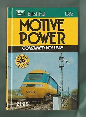 Ian Allan abc British Rail Motive Power 1982, vg unmarked 'combo'