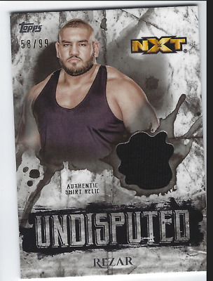 Rezar 2018 Topps Wwe Undisputed Authentic Shirt Relic /99