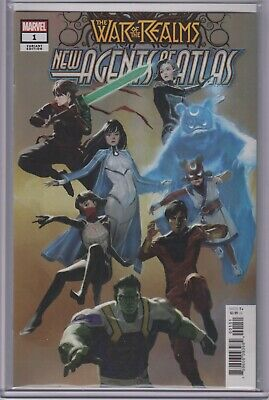 New Agents of Atlas #1 - War of the Realms 1:25 Pyeong Jun Park Variant 9.6+ NM