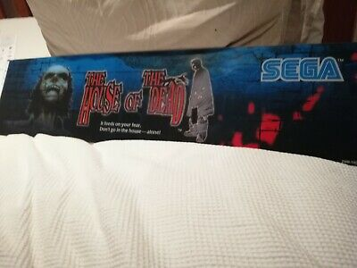 Sega arcade The House of The Dead man cave can be back lit