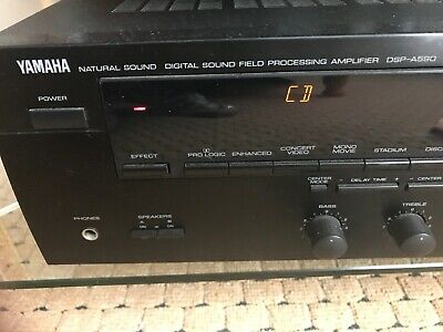 Yamaha DSP-A590 Stereo Integrated Amplifier