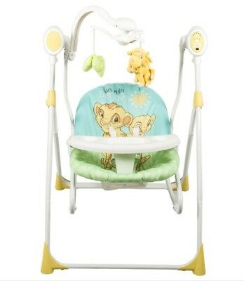 Brand New Disney The Lion King Baby Simba 3 In 1 Swing