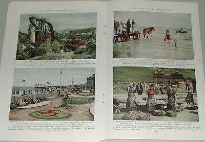 1937 ISLE OF MAN magazine articles, People, color photos, history