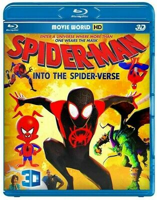 Spider-Man:into the spider-verse (Blu-ray 3D ) +Mortal Engine (Blu-ray 3D )