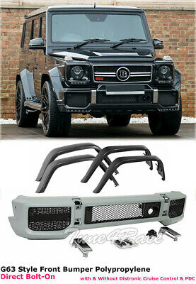 Front Bumper Upper Molding Trim For W463 G63 G65 G Wagon B Style