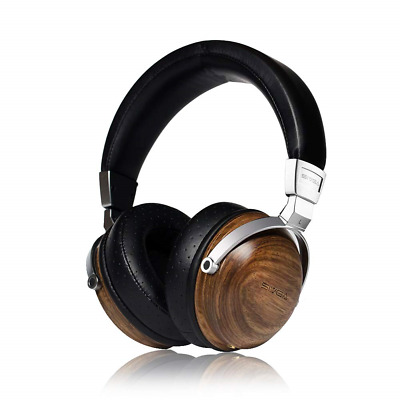 SIVGA SV003 Over Ear Headphone with Wooden Housing and Hi-Fi Stereo, Wired Music