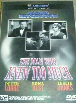 The Man Who Knew Too Much - DVD - Alfred Hitchcock