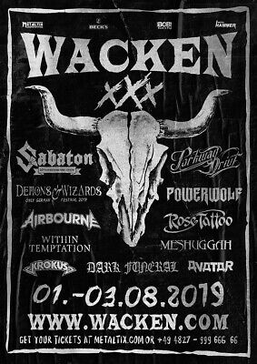 2 Tickets W:O:A Wacken 2019 Limited Xmas All In Ticket