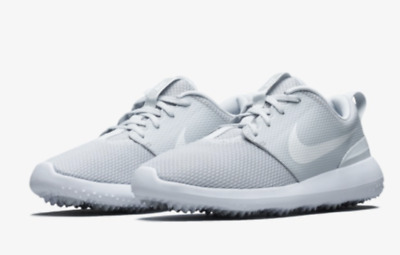 buy online 803d7 a0abe Nike Golf Roshe G Chaussures Baskets AA1837-002 Pure Platinum Blanc  Authentique