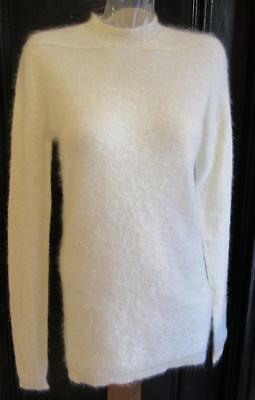 NWT Rick Owens Astaire Soft Mohair + Silk Sweater in Pearl - M - GORGEOUS!