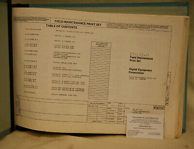 Digital Equipment Corporation ET-LSI-2 Field Maintenance Print Set