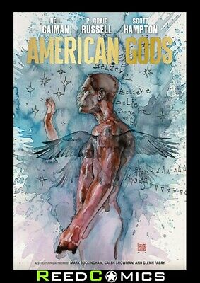 NEIL GAIMAN AMERICAN GODS VOLUME 2 MY AINSEL HARDCOVER Collects 9 Part Series