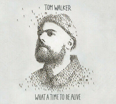 Tom Walker What A Time To Be Alive Hand Signed Autographed Cd Album 2019 Sealed