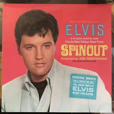 Elvis Presley CD. 'Spinout, FTD, with colour booklet, 7 inch Gatefold Edition.