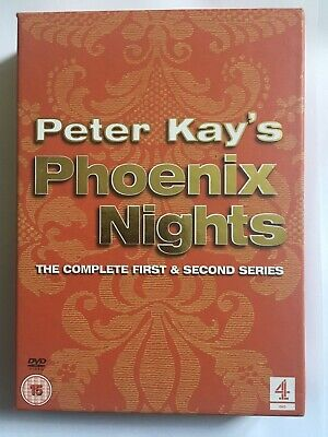 Peter Kay's Phoenix Nights Series 1 and 2 (DVD, 2003, 2-Disc Set, Box Set)