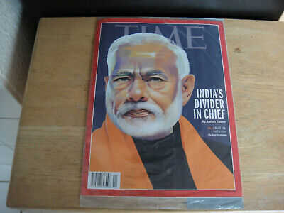 Time Magazine Aktuell NEU OVP 20.5.2019 Mai India's Divider in Cheid Indien