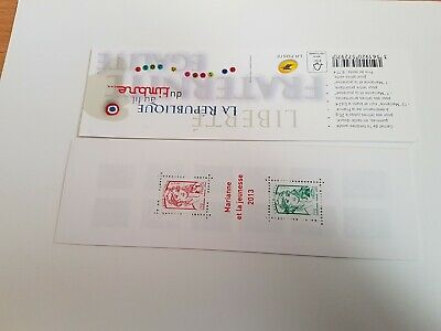 carnets timbres france neuf 1520A ttbe 2013  cote 28€