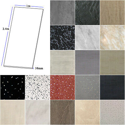 Large 1000mm Wide x 2.4m Shower Panels Bathroom Wet Wall Cladding PVC 10mm Thick