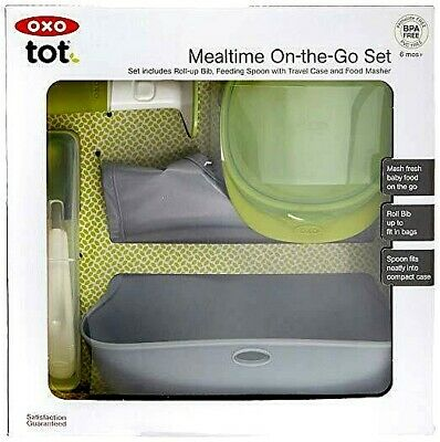 OXO Tot Mealtime On-the-Go Set for 6 months + - NIP