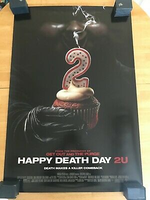 """Happy Death Day 2U D/S Authentic Movie Poster 27""""x40""""*Jessica Rothe"""