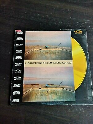 Lloyd Cole and the Commotions 1984-1989 CD VIDEO  LASERDISC NEW