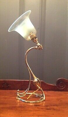 Arts & crafts Nouveau Lamp Lampe Light