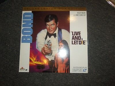 007 James Bond Live and Let Die Extended Play Laserdisc Video