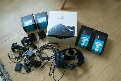 HTC VIVE Pro VR kit- Headset, controllers, base stations, etc- Great condition