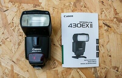 Canon Speedlite 430EX II Shoe Mount Flash