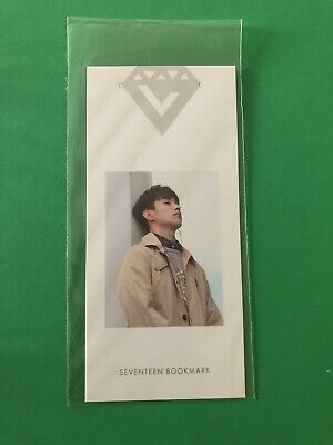 Seventeen DK [DOKYEOM] Official Photocard First Love & Letter 1st Album Bookmark