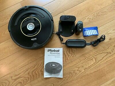 iRobot Roomba 650 Vacuum Cleaning Robot for Pets - Black