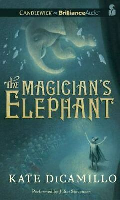 The Magician's Elephant, Kate DiCamillo, 2013 CD Unabridged Audiobook Free Ship!