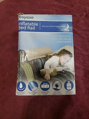 Royexe Inflatable Bed Rail package of  (2)