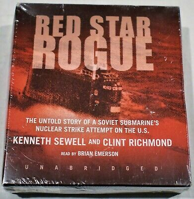 Red Star Rogue by Kenneth Sewell (2005, CD Unabridged) Audio Book Free Shipping!