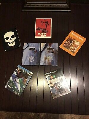 The Venture Bros.: Seasons 1-6 DVD Boxed Set, Pre Owned Free Shipping