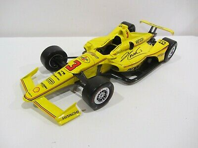 2019 HELIO CASTRONEVES signed 1:18 INDIANAPOLIS 500 PENNZOIL DIECAST INDY CAR bp