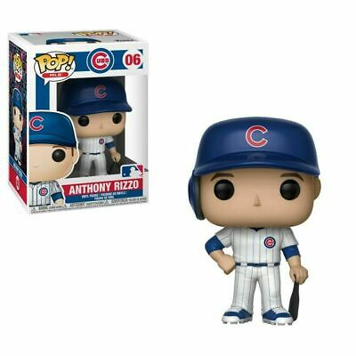 Funko Pop! MLB Baseball #06 Anthony Rizzo Chicago Cubs Collectible Figure NEW