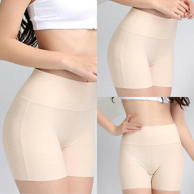 Women Safety Pants Elastic Anti-Chafing High Waist Seamless Breathable Shorts