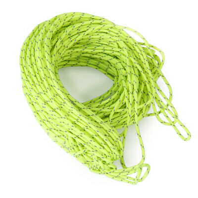 1.8MM Nylon Reflective Guyline Tent Rope Guy Line Camping Cord Paracord 20M