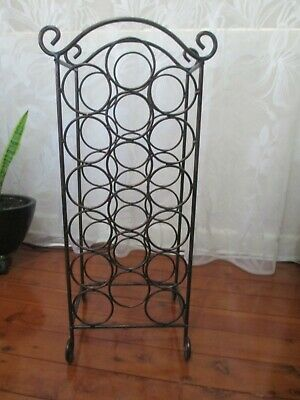 Metal Wine Rack – used condition
