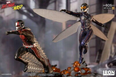 Iron Studios 1/10 Ant Man & Wasp Set Statue Collectible Doll Toy Model